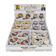CR5005-Starter Pack 1 x Display : 48 erasers Harry Potter Kawaii characters
