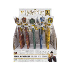 CR5105-Starter Pack 1 x Display : 25 Wooden Eraser Harry Potter Pencils