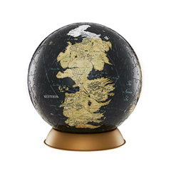DC30002-Westeros and Essos Globe Puzzle - 6 inches - 240 pcs - Game of Thrones - 4D Cityscape