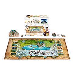 DC51108-Puzzle  The Wizarding World - 892 pcs - Harry Potter - 4D Cityscape