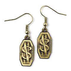 EFE0006-Newt Scamander Logo Earrings