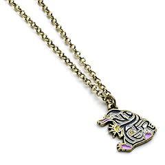 EFEN0018-Enamel Niffler Necklace