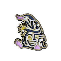 EFEP0018-Enamelled Niffler Pin Badge