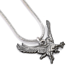 EHPN0094-Buckbeak Necklace