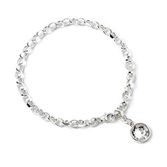 EHPSB022-Harry Potter Bracelet with Swarovski crystal