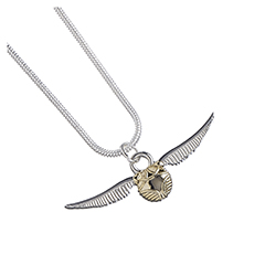 EWN0004-Golden Snitch Necklace