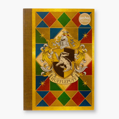 IHJ13-Hufflepuff House  Crest Notebook