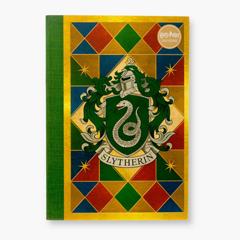 IHJ15-Slytherin House  Crest Notebook