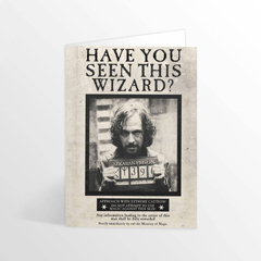 IHPCARD16L-Have you seen this wizard ? Lenticular greetings card