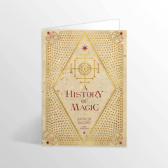 IHPCARD18-A History Of Magic Foiled Notecard