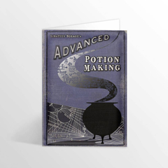 IHPCARD20-Advanced Potion-Making - Edition II Foiled Notecard