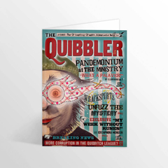 IHPCARD45-The Quibbler - Spectrespecs Foiled Notecard