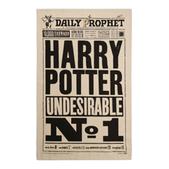 IHPT02-The Daily Prophet - Harry Potter Undesirable No. 1 Tea Towel